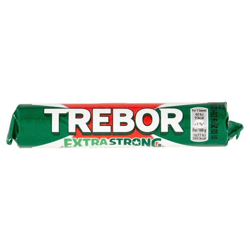 Picture of Trebor Extra Strong Peppermint Mints Roll 41.3g