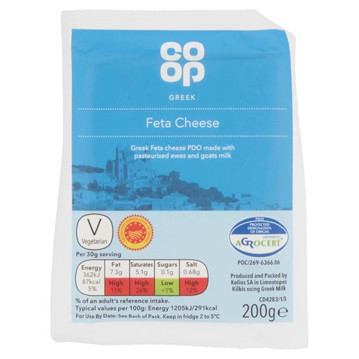 Picture of Co-op Greek Feta Cheese 200g