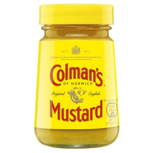 Picture of Colman's Original English Mustard 170g