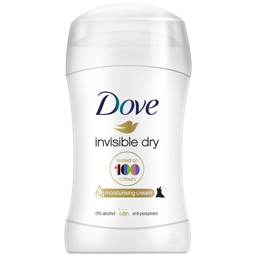 Picture of Dove Invisible Dry Antiperspirant Deodorant Stick 40 ml