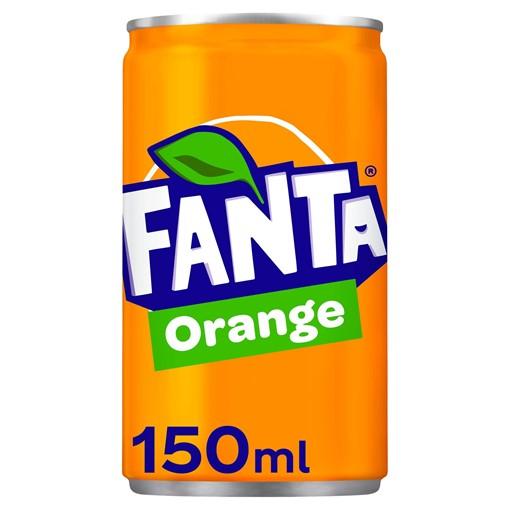 Picture of Fanta Orange Mini Can 150ML