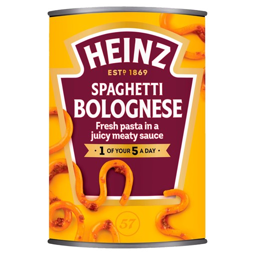 Picture of Heinz Spaghetti Bolognese 400g