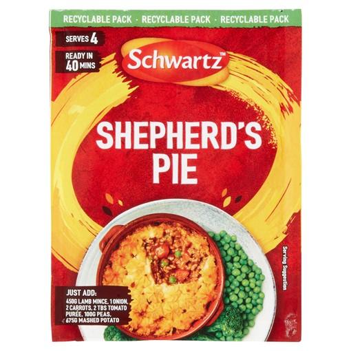 Picture of Schwartz Shepherds Pie Recipe Mix 38g