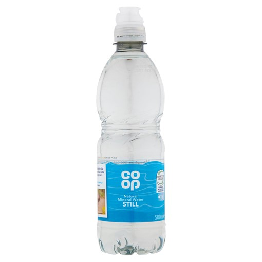 Picture of Co-op Natural Mineral Water Still 500ml
