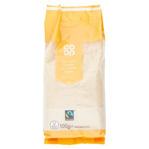 Picture of Co-op Fairtrade Golden Granulated Sugar 500g