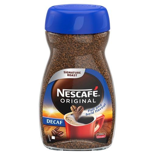 Picture of NESCAFÉ Original Decaff Instant Coffee 200g