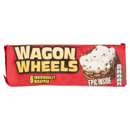 Picture of Wagon Wheels 6 Individually Wrapped