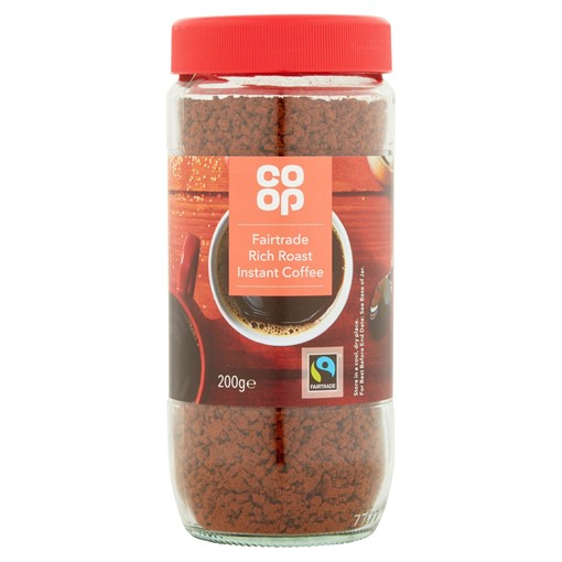 Picture of Co Op Fairtrade Rich Roast Instant Coffee 200g