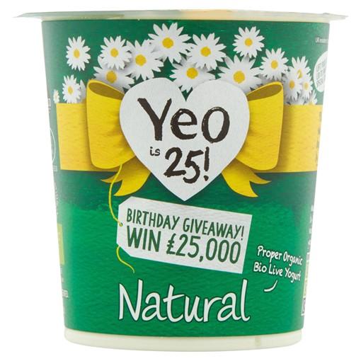 Picture of Yeo Valley Organic Natural Creamy Bio Live Yogurt 150g