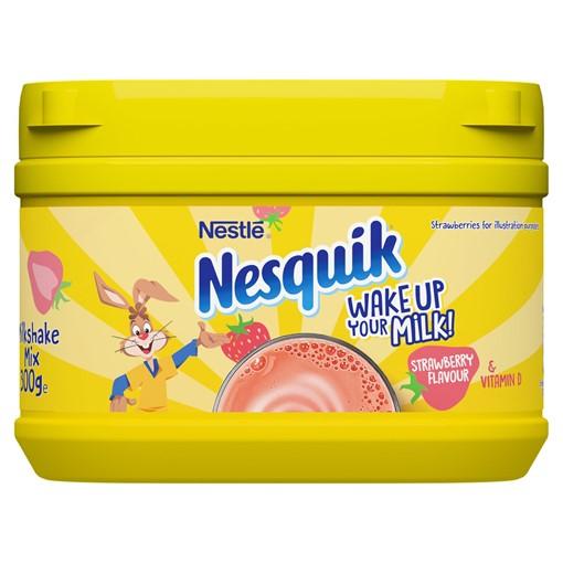 Picture of Nesquik®Strawberry Milkshake Powder300g Tub