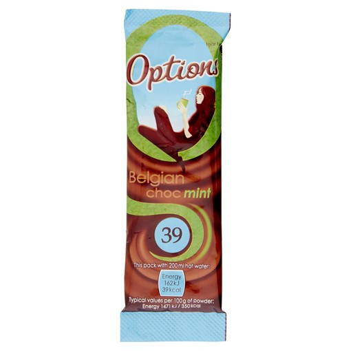 Picture of Options Belgian Choc Mint 11g