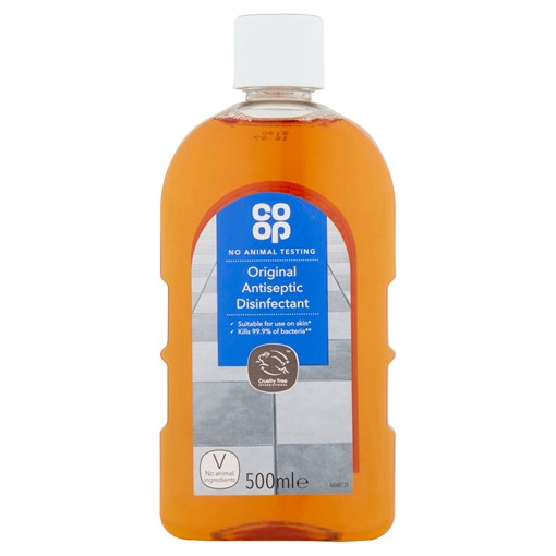 Picture of Co-op Original Antiseptic Disinfectant 500ml