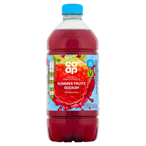 Picture of Co-op Summer Fruits Squash 750ml