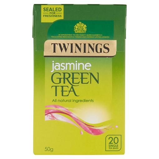 Picture of Twinings Jasmine Green Tea 20 Single Tea Bags 50g