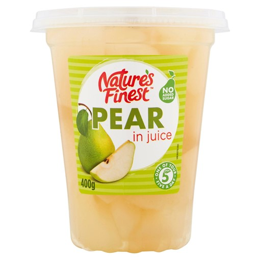 Picture of Nature's Finest Pear in Juice 400g