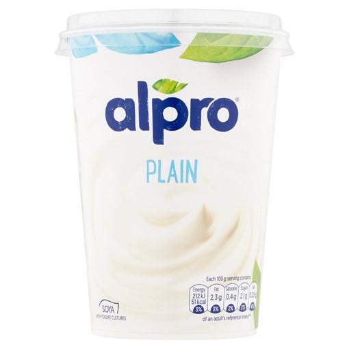 Picture of Alpro Plain Yoghurt Alternative 500g