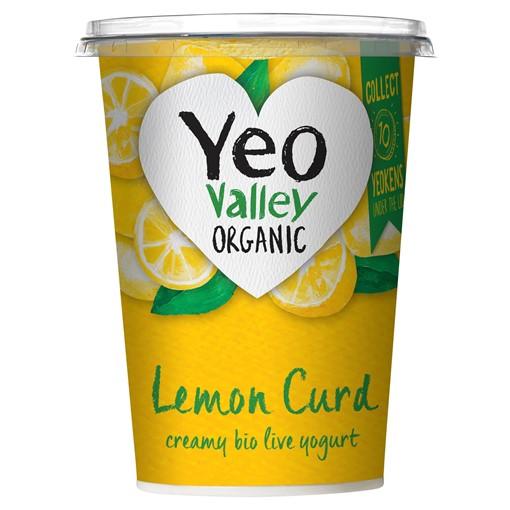 Picture of Yeo Valley Organic Lemon Curd Yogurt 450g