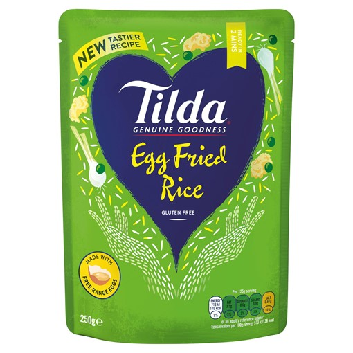 Picture of Tilda Microwave Egg Fried Rice 250g