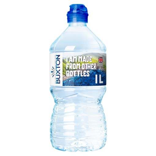 Picture of Buxton Still Natural Mineral Water Sports Cap 1L