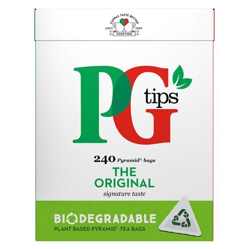 Picture of PG tips Original Biodegradable Tea Bags 240