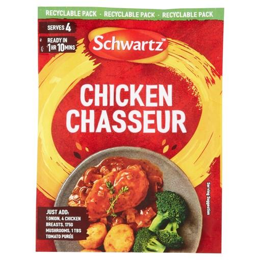 Picture of Schwartz Chicken Chasseur Recipe Mix 40g