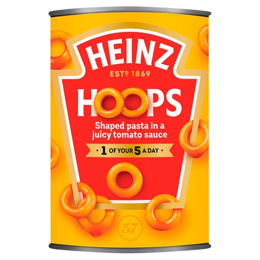 Picture of Heinz Spaghetti Hoops 400g