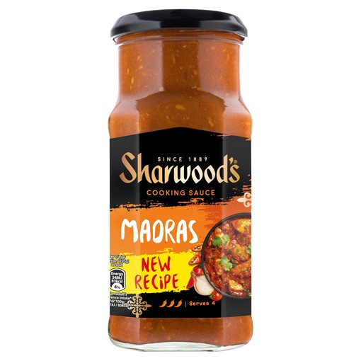 Picture of Sharwood's Madras Hot Curry Sauce 420g