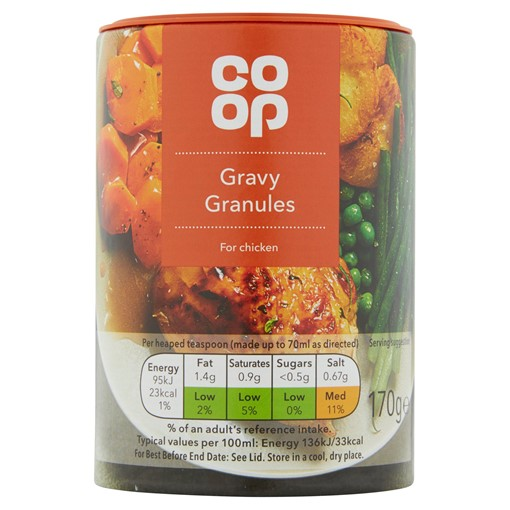 Picture of Co-op Gravy Granules for Chicken 170g