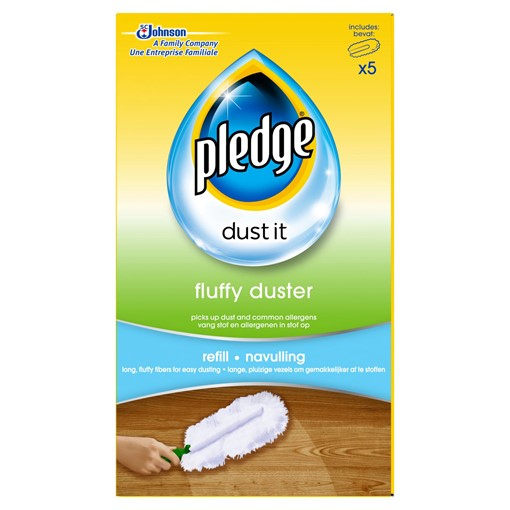 Picture of Pledge Dust It Fluffy Duster Refill 5 Pack