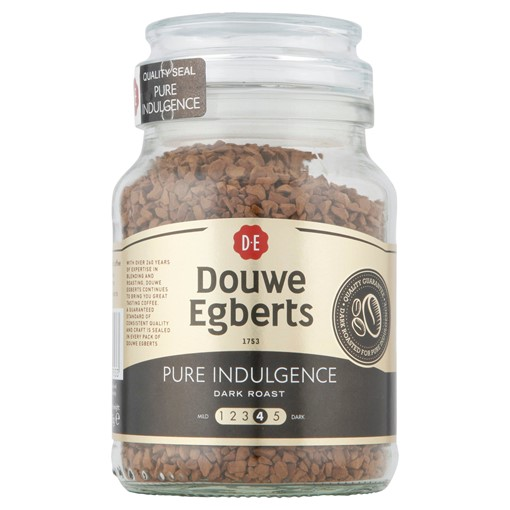 Picture of Douwe Egberts Pure Indulgence Dark Roast Instant Coffee 95g