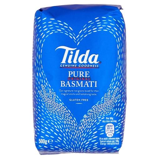 Picture of Tilda Pure Basmati Rice 500g
