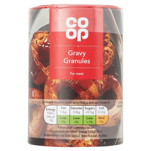 Picture of Co-op Gravy Granules 170g