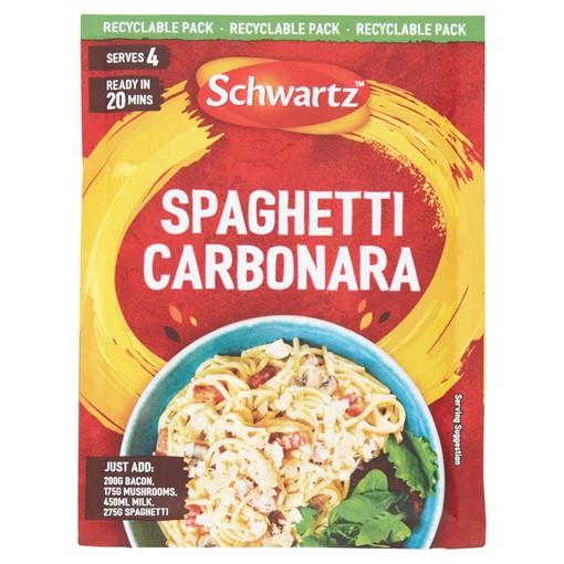 Picture of Schwartz Spaghetti Carbonara Recipe Mix 32g