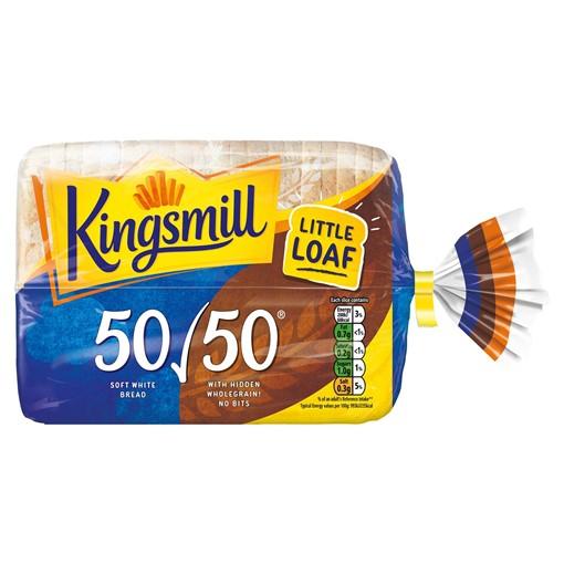 Picture of Kingsmill 50/50 Bread Medium 400g