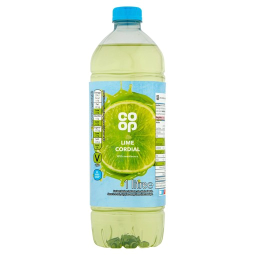 Picture of Co-op Lime Cordial 1 Litre