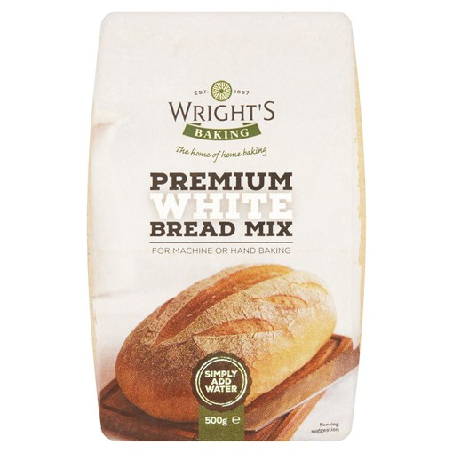 Picture of Wright's Baking Premium White Bread Mix 500g