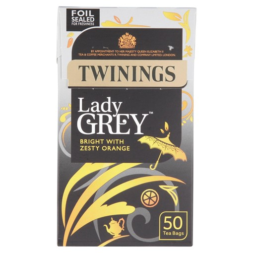 Picture of Twinings Lady Grey 50 Tea Bags 125g