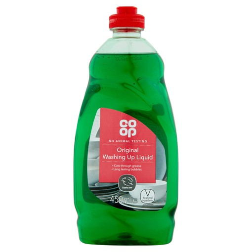 Picture of Co-op Original Washing Up Liquid 450ml