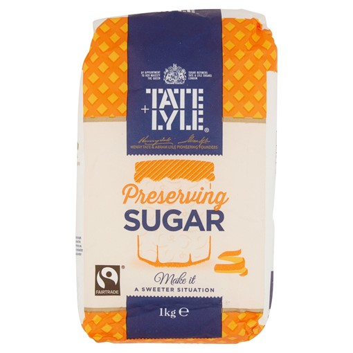 Picture of Tate + Lyle Fairtrade Preserving Sugar 1kg