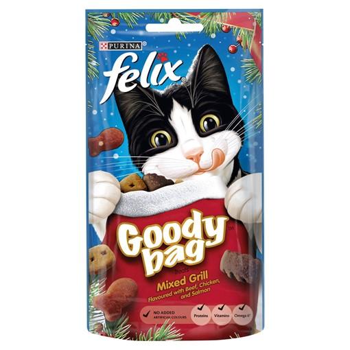 Picture of Felix Goody Bag Cat Treats Mixed Grill 60g