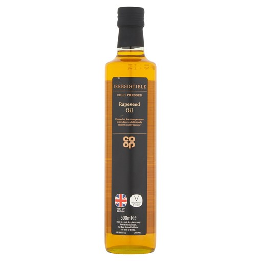 Picture of Co-op Irresistible Rapeseed Oil 500ml