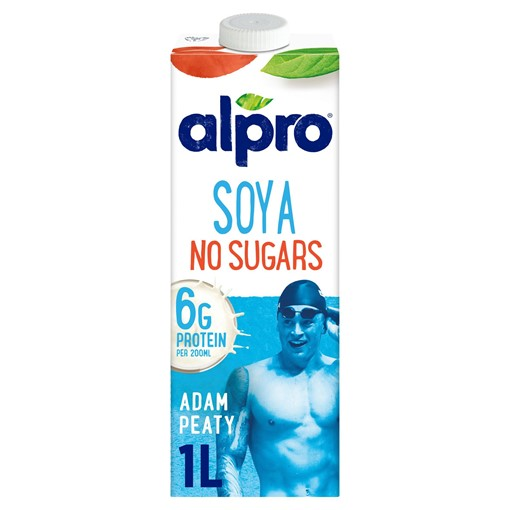 Picture of Alpro Soya No Sugars Long Life Drink 1L