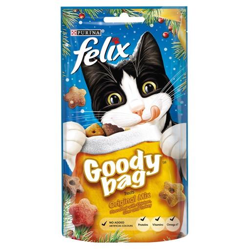 Picture of Felix Goody Bag Cat Treats Original Mix 60g