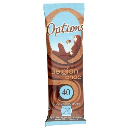 Picture of Options Belgian Choc 11g