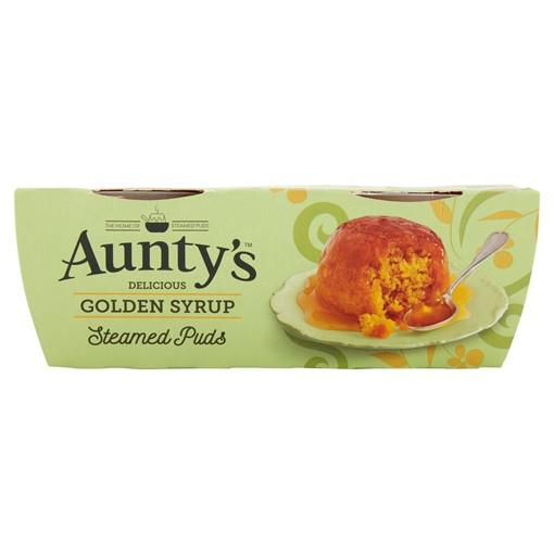 Picture of Aunty's Delicious Golden Syrup Steamed Puds 2 x 95g
