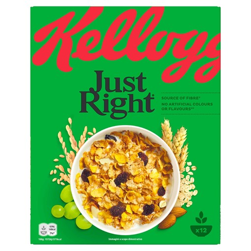 Picture of Kellogg's Just Right Cereal 500g