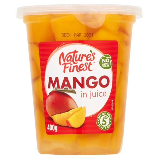 Picture of Nature's Finest Mango in Juice 400g