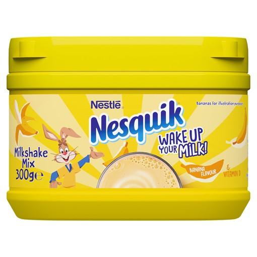 Picture of Nesquik Banana Flavoured Milkshake Powder 300g Tub