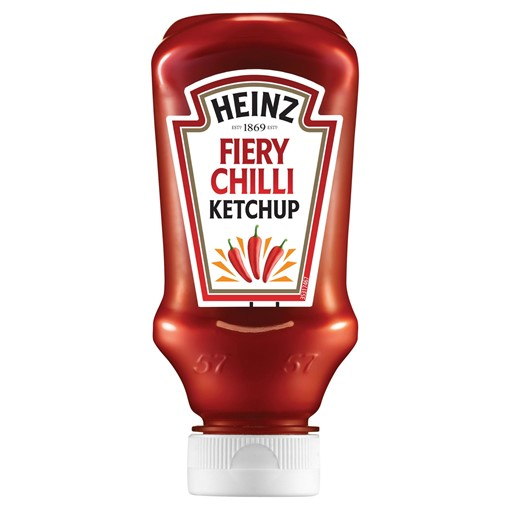 Picture of Heinz Fiery Chilli Tomato Ketchup 255g