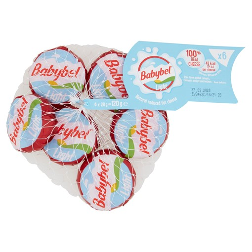 Picture of Mini Babybel Light Cheese Snacks 6 x 20g